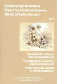 Sztuka Europy Wschodniej. Tom 5 - okładka książki