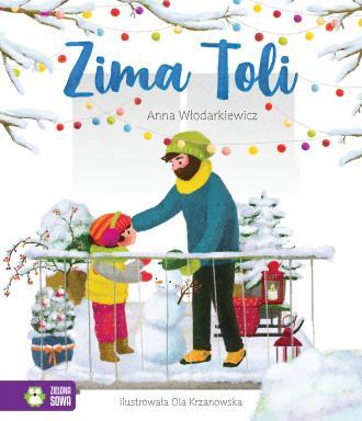 Tola. Zima Toli - okładka książki