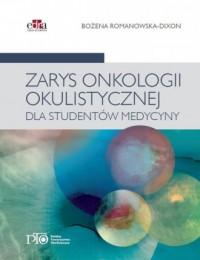 Zarys onkologii okulistycznej dla studentów medycyny - okładka książki