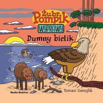 Żubr Pompik 7. Dumny bielik - okładka książki