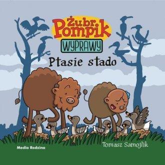 Żubr Pompik 8. Ptasie stado - okładka książki