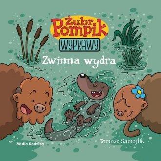 Żubr Pompik 9. Zwinna wydra - okładka książki
