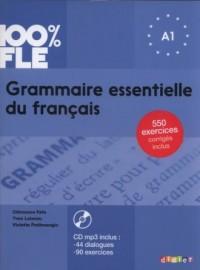 100% FLE Grammaire essentielle du francais A1 + CD - okładka podręcznika