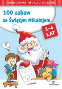 100 zabaw ze Świętym Mikołajem - okładka książki
