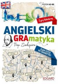 Angielski. GRAmatyka Tropem Szekspira - okładka podręcznika