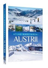 Atlas narciarski Austrii - okładka książki