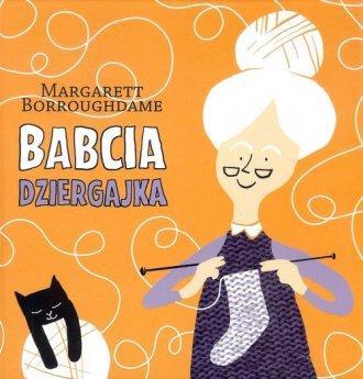 Babcia dziergajka - okładka książki