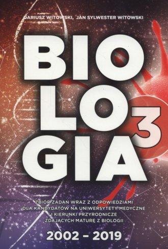 Biologia Zbiór zadań wraz z odpowiedziami - okładka podręcznika