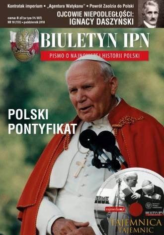 Biuletyn IPN nr 155 (10) / 2018 - okładka książki