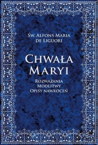Chwała Maryi - okładka książki