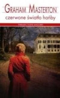 Czerwone światło hańby - okładka książki
