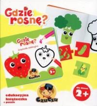 CzuCzu. Gdzie rosnę? Edukacyjna książeczka   puzzle - okładka książki