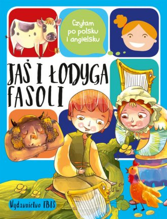 Czytam po polsku i angielsku. Jaś - okładka książki