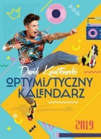 Dawid Kwiatkowski. Optymistyczny kalendarz 2019 - okładka książki