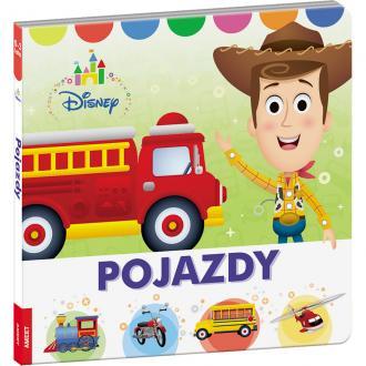 Disney Maluch. Pojazdy - okładka książki