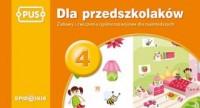 Dla przedszkolaków 4. Zabawy i ćwiczenia ogólnorozwojowe dla najmłodszych - okładka podręcznika