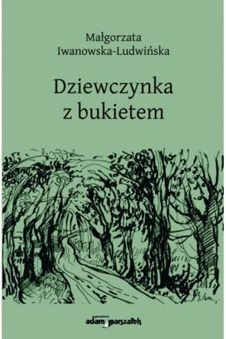Dziewczynka z bukietem - okładka książki