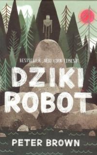 Dziki robot - okładka książki