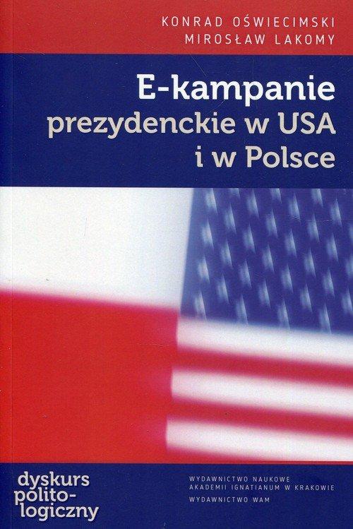 E-kampanie prezydenckie w USA i - okładka książki