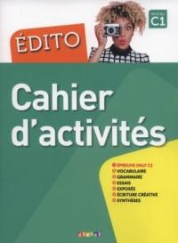 Edito C1 Cahier dactivities - okładka podręcznika