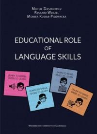 Educational Role of Language Skills - okładka książki