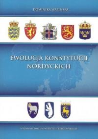 Ewolucja konstytucji nordyckich - okładka książki