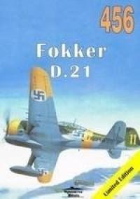 Fokker D. 21 456 - Janusz Ledwoch - okładka książki