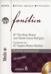 Fonetica Nivel medio B1 + CD - okładka podręcznika