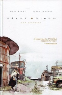 Grass Kings. Tom 1 - okładka książki