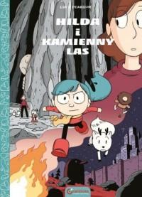Hilda i Kamienny Las - okładka książki
