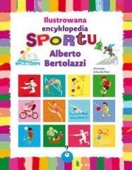 Ilustrowana encyklopedia sportu - okładka książki