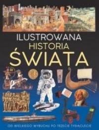 Ilustrowana historia świata - okładka książki