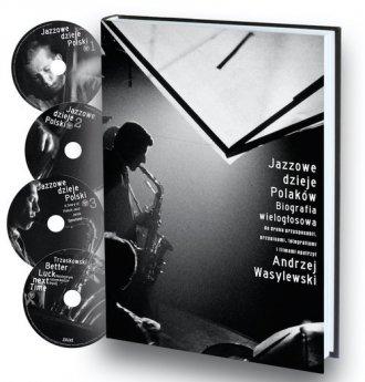 Jazzowe dzieje Polaków. Biografia - okładka książki