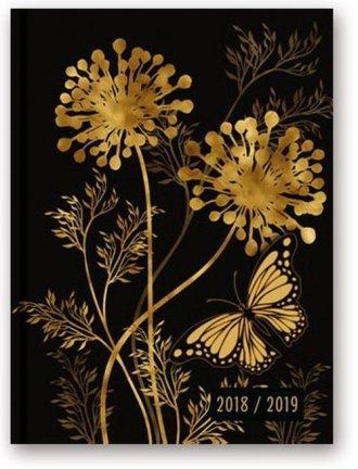 Kalendarz 2019 A5 książkowy. Planer - okładka książki