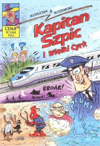 Kapitan Szpic i wielki cyrk - okładka książki