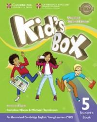 Kids Box 5 Students Book American English - okładka podręcznika