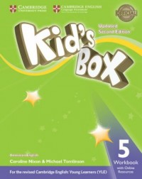 Kids Box 5 Workbook with Online Resources American English - okładka podręcznika