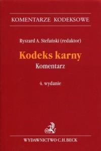 Kodeks karny Komentarz - okładka książki