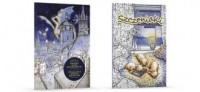 Kolorowanki z sentencjami. Smoki nad Krakowem / Szczeniaki. PAKIET - okładka książki