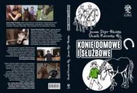 Konie domowe i służbowe - okładka książki
