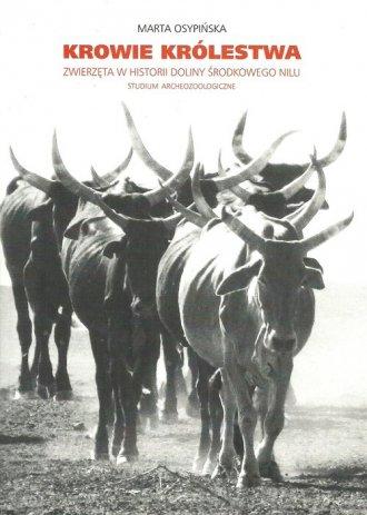 Krowie królestwa. Zwierzęta w historii - okładka książki
