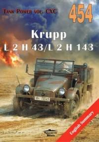 Krupp L2 H43/143 vol. CXC 454 - okładka książki