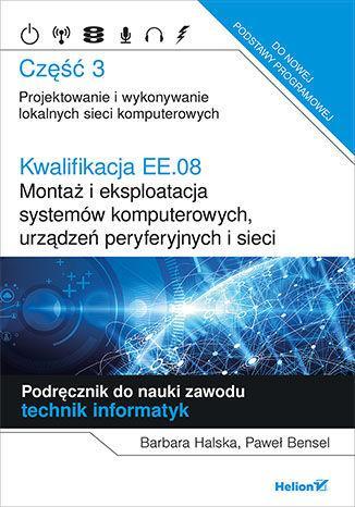 Kwalifikacja EE.08 cz.3 HELION - okładka podręcznika
