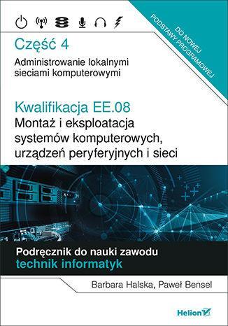 Kwalifikacja EE.08 cz.4 HELION - okładka podręcznika