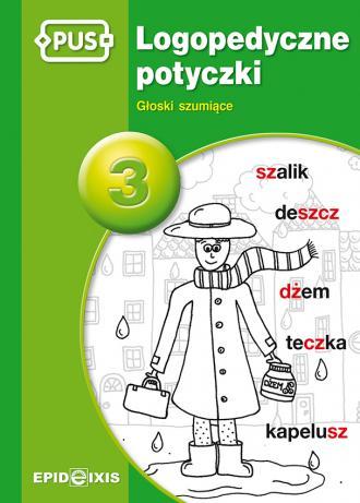 Logopedyczne potyczki 3. Głoski - okładka podręcznika