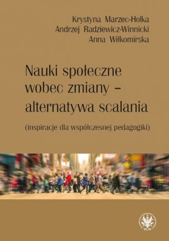 Nauki społeczne wobec zmiany - - okładka książki