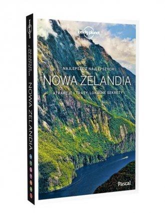 Nowa Zelandia. Lonely Planet - okładka książki