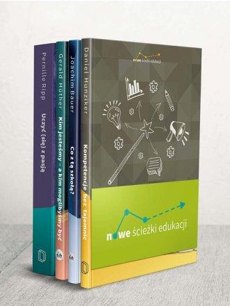Nowe ścieżki edukacji Co z tą szkołą - okładka książki