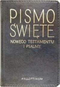 Nowy Testament i Psalmy - okładka książki