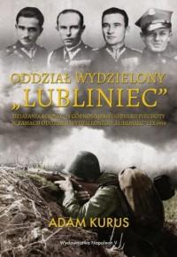 Oddział Wydzielony Lubliniec. Działania bojowe 74 Górnośląskiego Pułku Piechoty w ramach oddziału wydzielonego Lubliniec 1 IX 1 - okładka książki